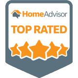 HomeAdvisor 5 Star Rating