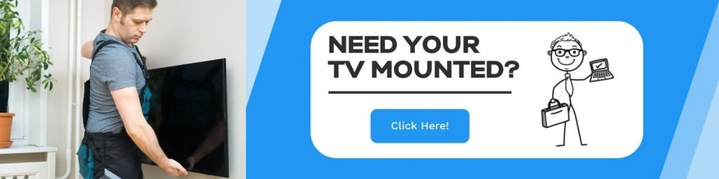 Local TV mounting service