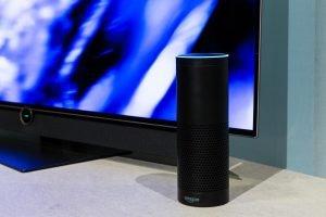 Amazon Alexa controlling smart tv