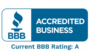 BBB Accredited Rated A by the Better Business Bureau