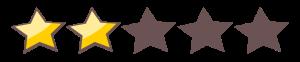 2-star rating